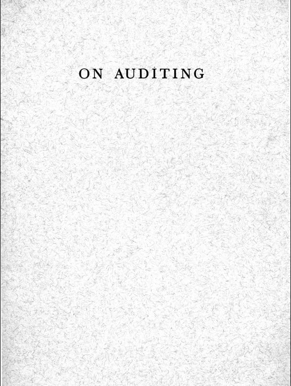 ON AUDITING - cover.JPG