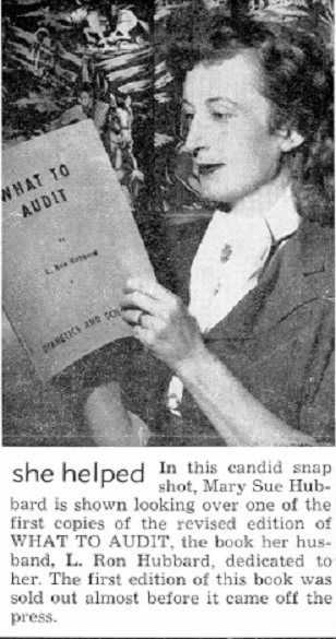 "MSH in circa 1952 ""Journal Of Scientology"" publication"