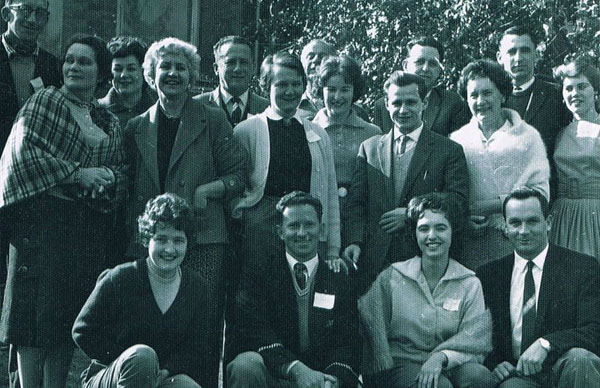 Scientologists with the Melbourne College of Personal Efficiency, 1962