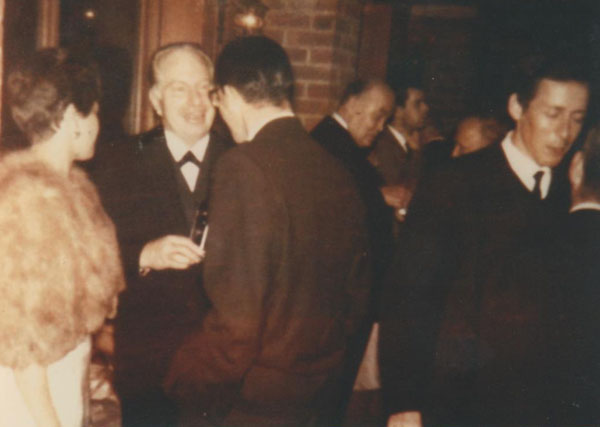 Yvonne and Peter with L. Ron Hubbard in 1962