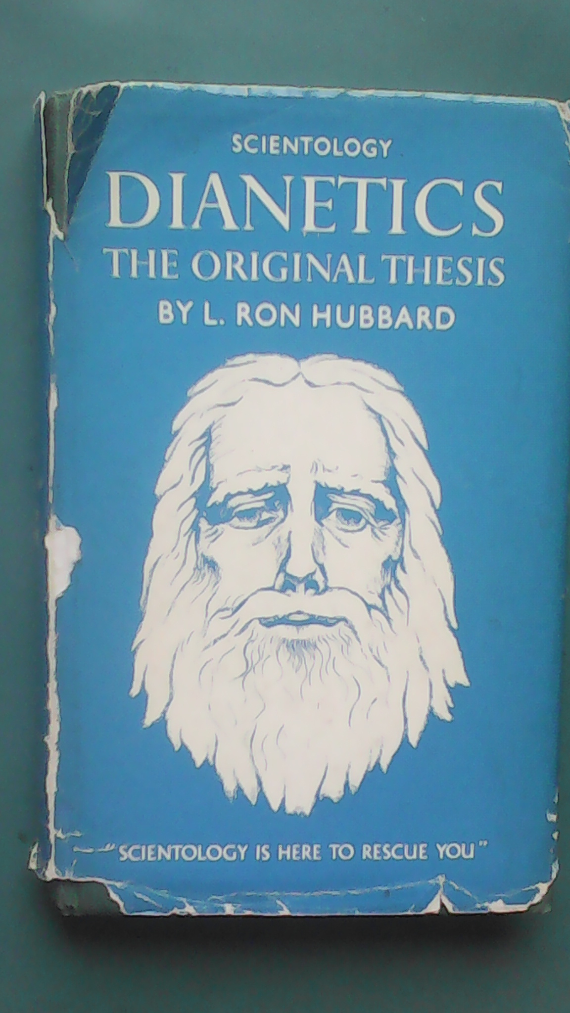 Front of dust jacket Dianetics The Original Thesis.jpg
